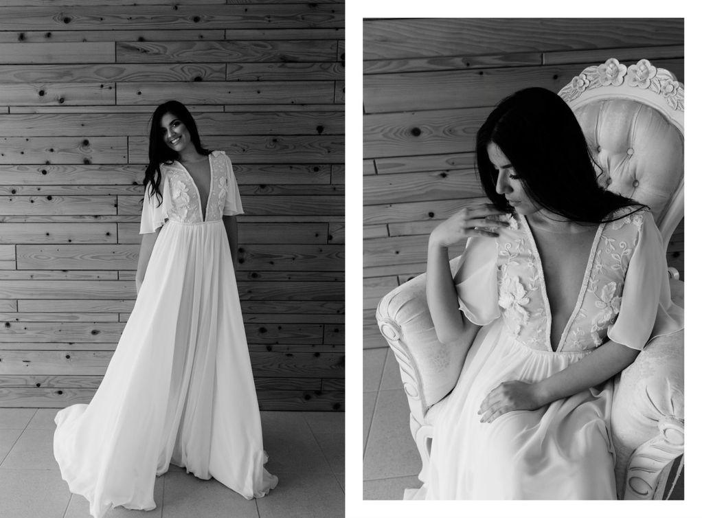 Zadovoljna.hr: Pet divnih vjenčanica za mladenke koje traže udobnu haljinu 2