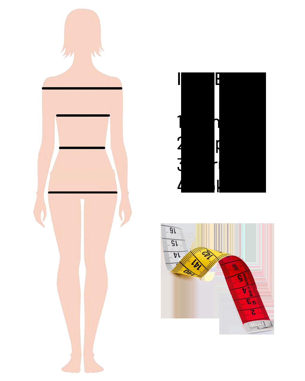 Lukabu - Vodic kako izmjeriti veličine